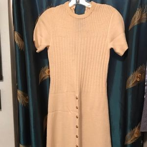 St. John sweater dress short sleeve